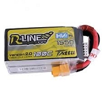 Tattu R-Line 1550mAh HV 100C 4S1P Lipo Battery